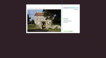 Andy Paterson Architects working with sustainability, contemporary design, conservation. Architects based near Bristol