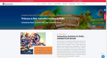 Animation Course | Animation course in delhi- Animation Boom
