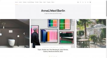 AnneLiWest|Berlin
