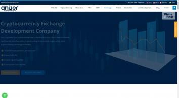 Crypto Exchange Development Company   White Label Crypto Exchange Software   Antier Solutions