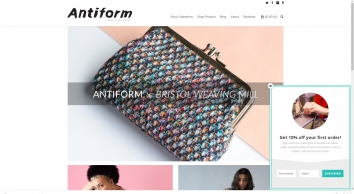 Antiform   Made in England Clothing With An Irregular Twist