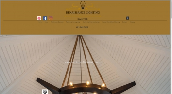Lighting Restoration and Repair, Renaissance Antique Lighting