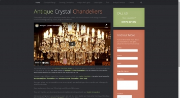 Antique Crystal Chandeliers