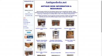 Antique Desks