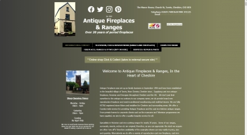 Antique Fireplaces & Ranges