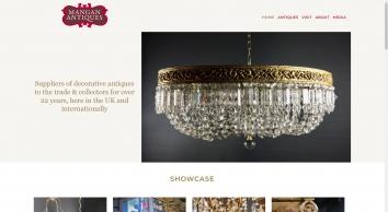Mangan Antiques the Trade Warehouse Saltham Barns