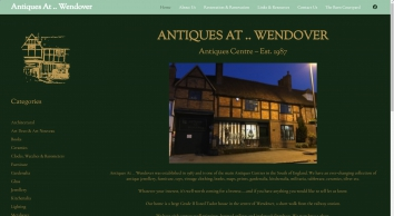 Antiques at Wendover