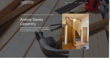 Antony Davies - Carpenters and Joiners in Pembrokeshire, Wales