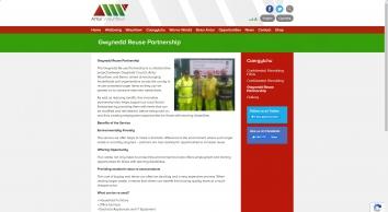 Gwynedd Reuse Partnership   Antur Waunfawr