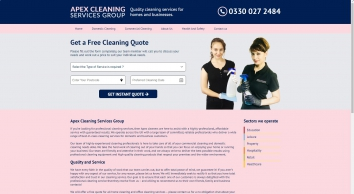Cleaning Services   Apex Cleaning Services Group Ltd