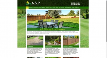 A & P Paving & Landscapes