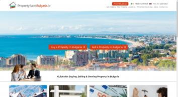 Appreciating Assets, Bulgarian Property Sales