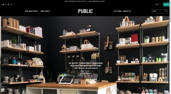 Public Goods and Services: Sustainable Products and Bulk Refills