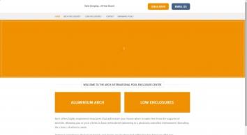Swimming Pool Enclosures | Arch Enclosures