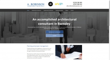 A. Robinson Chartered Architect, consultant in Barnsley
