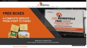 Ark-Removals are Removals East Sussex Brighton Storage Company