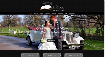Arrive in Style Wedding Cars