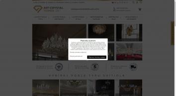 Křišťálové lustry, luxusní lustry,  lustry, lampy, svítidla | ArtCrystal Bořivoj Tomeš