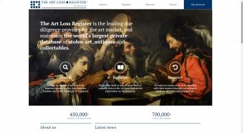 Antiques & Auctions website galleries