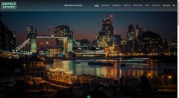 Ashfield Estates Website
