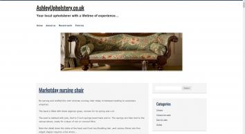 Ashley Upholstery