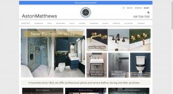 Luxury Bathrooms, Designer Bathrooms - Aston Matthews
