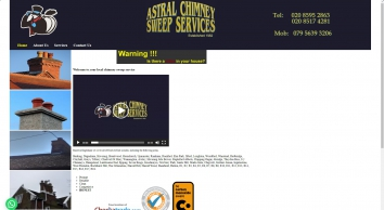 Astral Chimney Sweep Services
