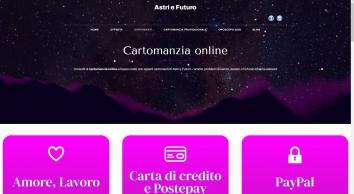 Consulti di Cartomanzia Online da € 0,25/min | Astri e Futuro