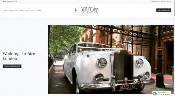 Wedding Car Hire London - A.T. Beauford