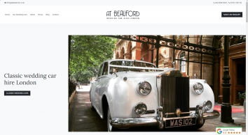 Wedding Car Hire London | Wedding Cars London | A.T. Beauford