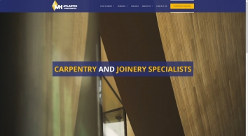 Atlantic Contracts | Bespoke Joinery and Carpentry Specialists | Part of Masterson Holdings Group - Atlantic Contracts Ltd | Carpentry and Joinery Specialists | Part of the Masterson Holdings Group