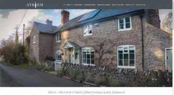 Atrium bespoke hardwood conservatories, orangeries, windows, doors and secondary glazing - Listed Building and Conservation Area specialist