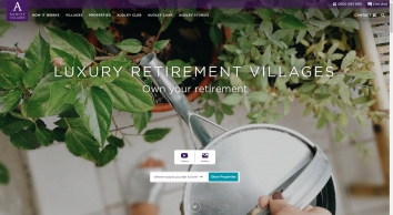 Audley Luxury Retirement Villages and Properties
