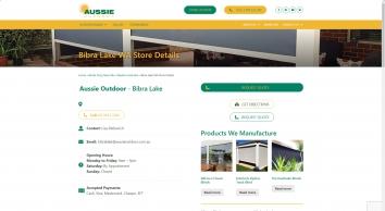 Aussie Outdoor Alfresco/Cafe Blinds Bibra Lake