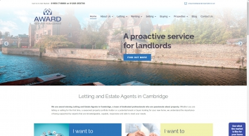 Award Property Letting Agents in Cambridge