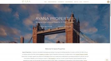 Ayana Properties - Bringing International Property to Your Doorstep!