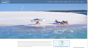Azura Retreats: Award-Winning Luxury Island & Safari Holidays. Official Site.