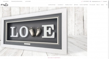Welcome to Babyprints - The hand and foot cast specialists