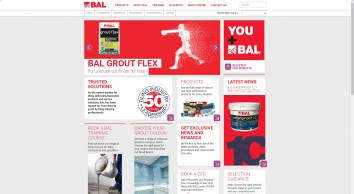 BAL Adhesives | Building Adhesives for the Trade