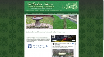 Ballyalton House Architectural Reclamation