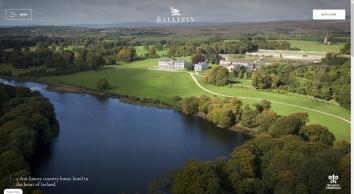 Luxury Hotel Ireland   5 Star Country House Hotel   5 star Hotels in County Laois   5 star Hotels in Ireland