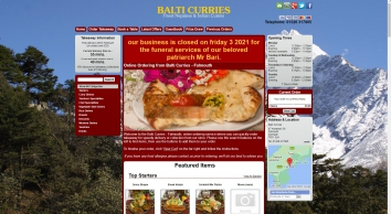 Balti Curries