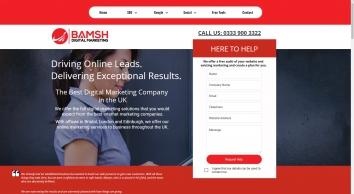 Bamsh Digital Marketing | Bristol, London & Edinburgh UK
