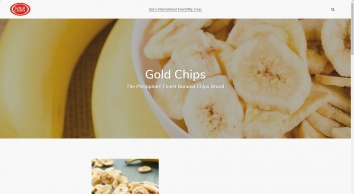 Banana Chips Company Philippines | High Quality Banana Chips | Gold Chips