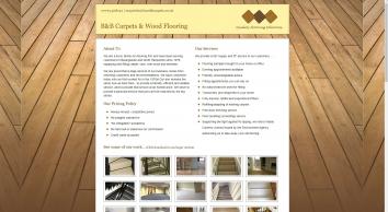 B & B Carpets & Woodflooring