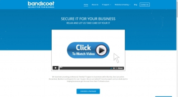 Web Design Ramsbottom, Greater Manchester – Bandicoot – IT Support & Website Services
