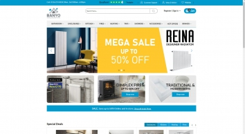 Choose store for your bathroom and Home Appliances