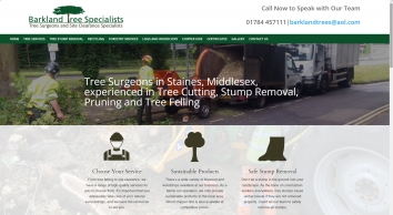 Tree Surgeons | Staines, Middlesex - Barkland Tree Specialists