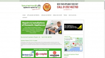 Bournemouth Appliance Repairs Ltd