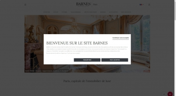 Barnes International, Barnes Pied A Terre D\'exception Paris 16